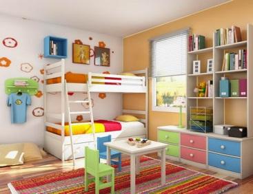 اصول طراحی ارگونومی اتاق کودک